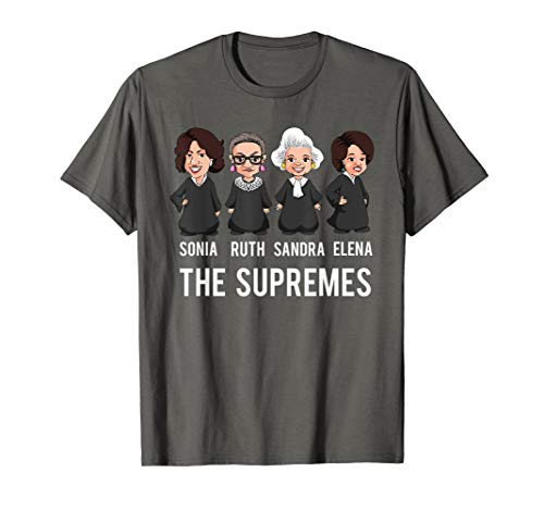 Supreme Court Justices T Shirt, The Supremes Apparel Women.