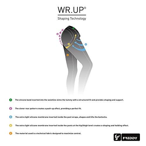 nero dritti effetto a Pantaloni FREDDY da UP bassa donna nero modellante vita WR qtHwWPAx4