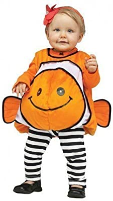 Bebé Niña Niño Pez Payaso Halloween Traje Disfraz 12-24 meses ...