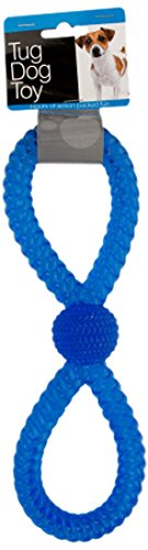 Kole KI-OL270 Figure 8 Tug Dog Toy, One (Figure 8 Rope Toy)