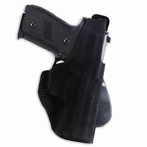 Galco Gunleather Paddle Lite Holster for Ruger LCR (Black, Right-hand) by Galco Gunleather