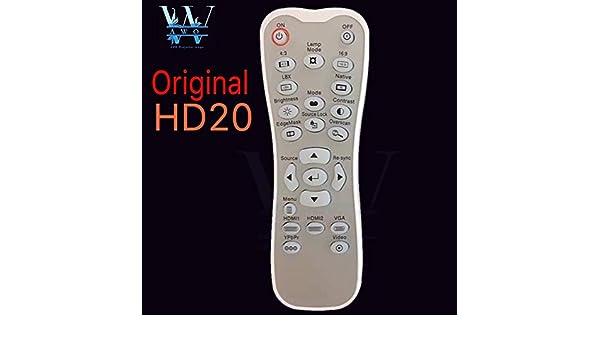 Calvas HD20 - Mando a distancia para proyector Optoma HD20 HD20H ...