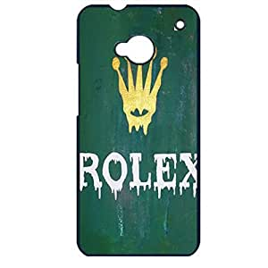 Retro Green Special Rolex Phone Case Cover for Htc One M7 Rolex Luxury