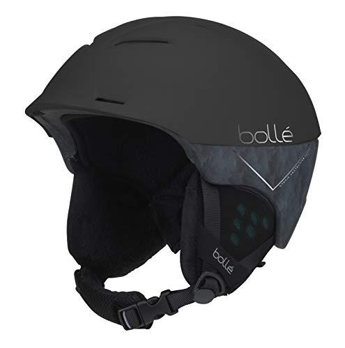 - Bolle Synergy Ski Helmet, Matte Black Forest, 54-58cm