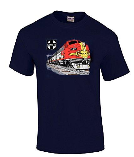 AT&SF (Santa Fe) Super Chief at Night Authentic Railroad T-Shirt Kids Medium (10-12) [119]
