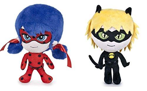 Miraculous: Tales of Ladybug & Cat Noir - Pack 2 Plush Toy: LADYBUG and CAT NOIR 7