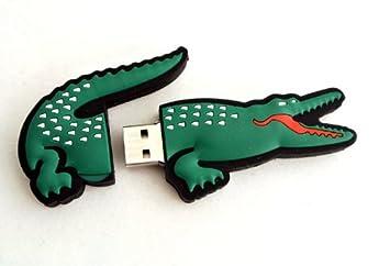 06329f490dd 16GB Animal Cocodrilo Lacoste Pendrive Pen Drive Memoria Usb-PD066(Envío de Fábrica  25 días aprox)  Amazon.es  Electrónica