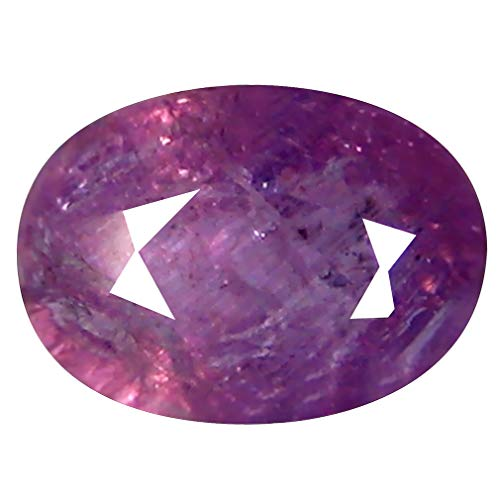1.35 ct OVAL CUT (7 x 5 mm) 100% NATURAL GENUINE UNHEATED UNTREATED CEYLON PINK SAPPHIRE LOOSE GEMSTONE