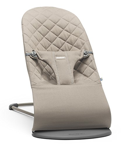 BABYBJORN Cotton Bouncer Bliss, Sand Grey by BabyBjörn (Image #5)