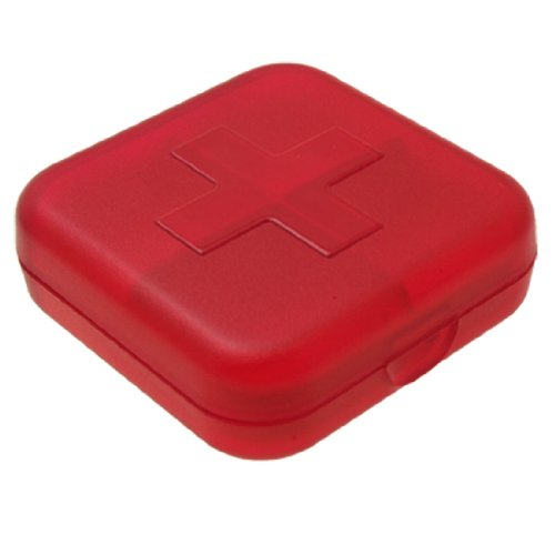e Cross Pill Box Red ()