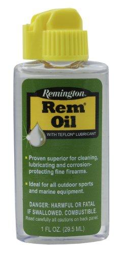 Remington Oil Bottle Teflon Formula Thin Long Lasting Film Larger Surface Area Heart Shaped