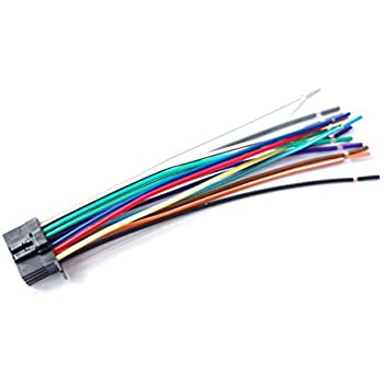 Amazon.com: WIRE HARNESS 16 PIN FOR KENWOOD KMM-BT222U ... on kenwood amplifier wiring diagram, pioneer wiring color diagram, kenwood mic wiring, kenwood ddx6019 wiring-diagram, clarion 16 pin wiring diagram, hid relay harness diagram, kenwood wiring harness colors, sony 16 pin wiring diagram, kenwood amp wiring diagram, kenwood kdc wiring-diagram, kenwood cd player wiring-diagram, kenwood microphone wiring diagram, pioneer car stereo wiring diagram, kenwood ddx514 manual, kenwood stereo wiring, kenwood car stereo wire harness diagram, kenwood ddx512 wire harness, kenwood amp kac 720 diagram, kenwood mc 60 wiring, kenwood kdc 248u wiring harness,
