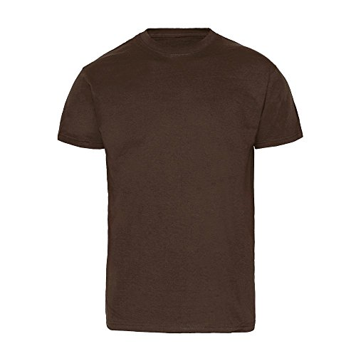 T-Shirt - Fruit of the Loom (Super Premium) (braun) (XL)