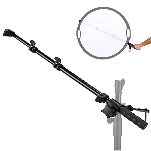 Selens Reflector Holder Arm Support Photo Studio Extendable Boom Stand with Adjustable Length 22.4-57 inches for Product and Portrait Photography