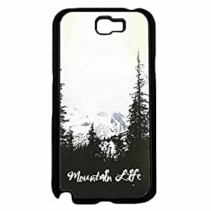 Mountain Life TPU RUBBER SILICONE Phone Case Back Cover Samsung Galaxy Note II 2 N7100