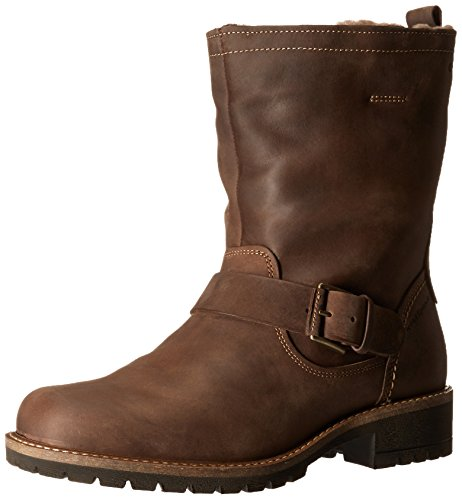Pictures of Ecco Footwear Womens Elaine Buckle Boot Black 1