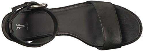 Frye Women's Cindy 2 Piece Heeled Sandal Black M7dxen