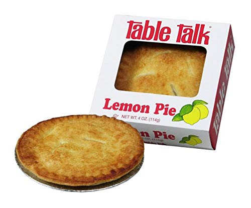 Table Talk Pie, Snack pies, 4oz - Pack of 2 (Lemon) made in New England