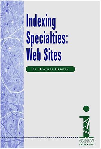 Web Sites Indexing Specialties