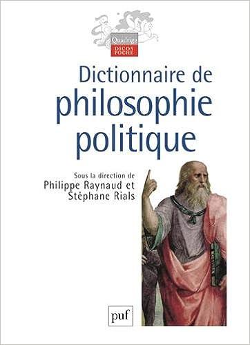 En ligne téléchargement gratuit Dictionnaire de philosophie politique pdf