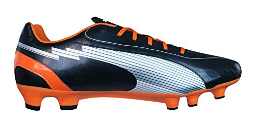 Chaussures de Foot Evospeed 5 FG Noir/Blanc/Orange
