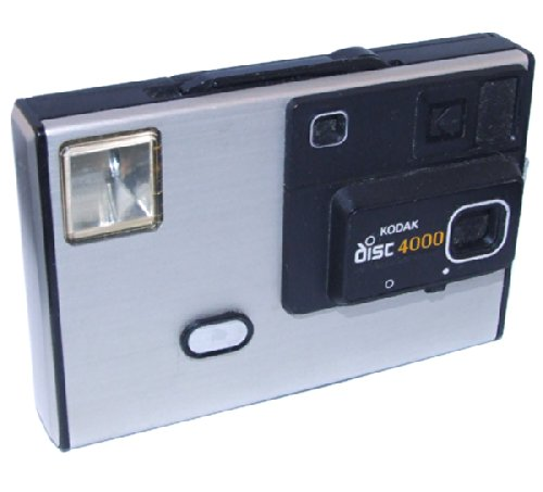 Kodak Disc 4000 Vintage Disc Film Camera with Estate Film ()