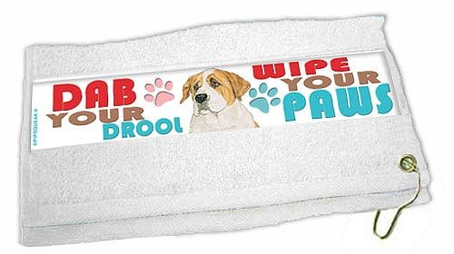 Saint Bernard Paw Wipe Towel