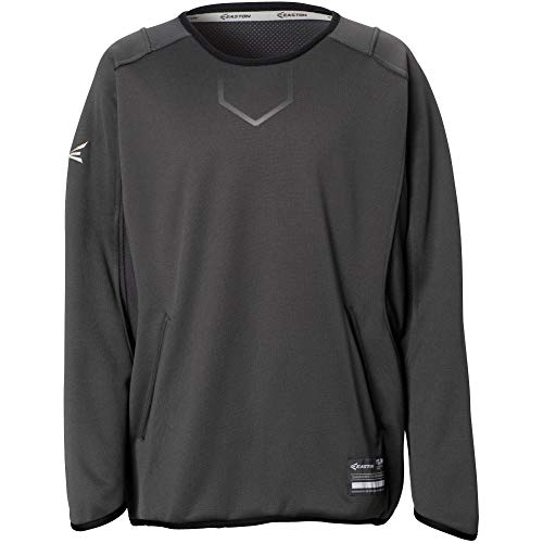- Easton Alpha Fleece Pullover Adult Charcoal L