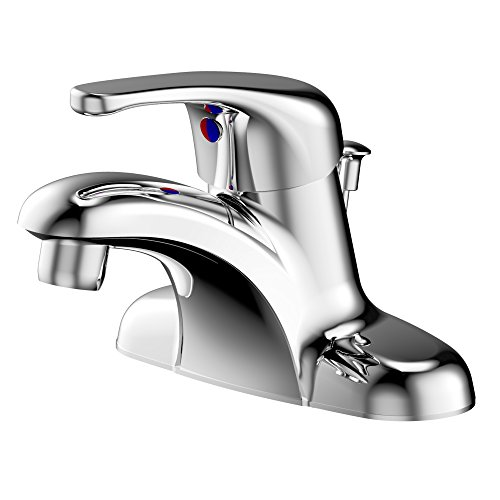 bathroom faucet with pop up - 2