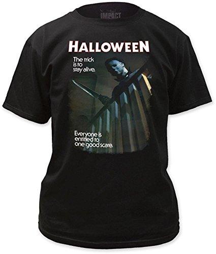 Halloween - Mens One Good Scare T-shirt Small Black (Halloween Tshirt)