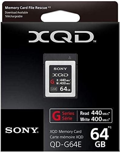 2-Pack Sony Professional XQD G Series 64GB Memory Card QDG64E//J
