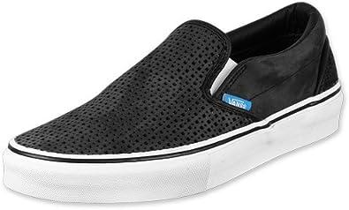 Vans Classic Slip On LX Perf 182 Slipper 12,0 blackwhite