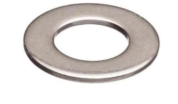 0.040 Thick 1//2 OD Pack of 50 Zinc Plated Finish No Steel Flat Washer Type B 8 Screw Size ASME B18.22.1 3//16 ID