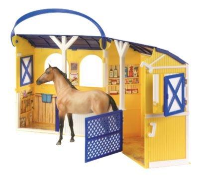Breyer Classics Two-Stall Barn Travel Case by Breyer