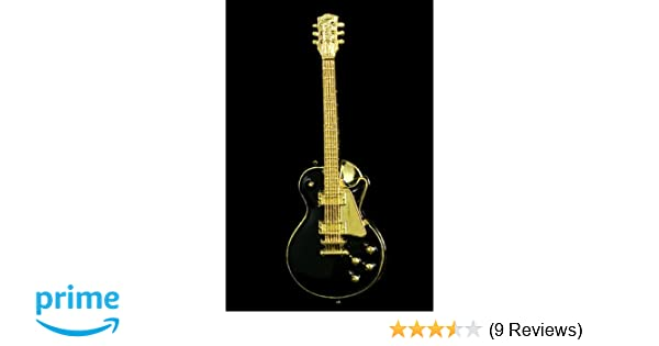 Amazon.com: Les Paul Vintage Electric Guitar Pin - Black: Musical Instruments