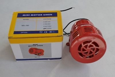 MS-190 AC 220-240V AC 120dB Industrial Alarm Motor Siren NEW