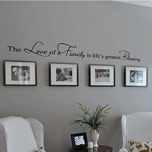 Stick on wall art Wall decals Nice Normal Family Custom vinyl wall decals