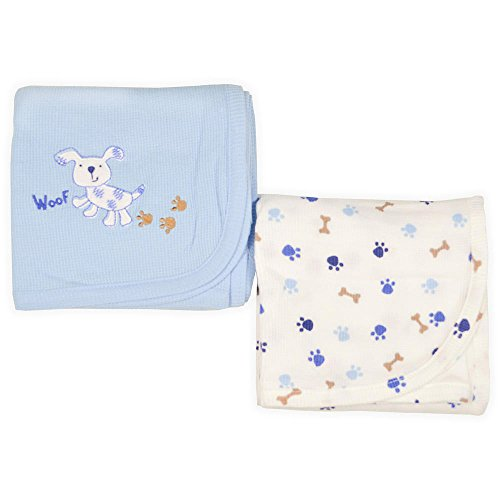 Koala Baby Puppies 2 Pack Thermal Blankets