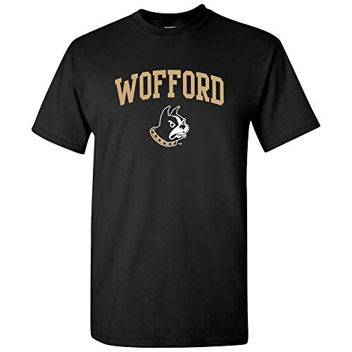 (UGP Campus Apparel AS03 - Wofford Terriers Arch Logo T-Shirt - 2X-Large - Black)