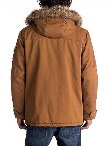 Quiksilver Mens Storm Drop 5K - Waterproof Winter Parka Waterproof Winter Parka Brown Xl by Quiksilver (Image #4)
