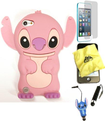Bukit Cell ® 3D Disney Case Bundle - - 3d Case For Ipod 5