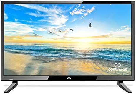 28 LED HDTV by Continu.us CT-2860 High Definition Television 720p 60Hz Eco-Friendly TV, Lightweight and Slim Design, VGA HDMI USB Inputs, VESA Wall Mount Compatible.
