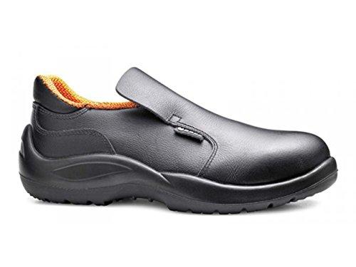 Base S2Src zapato de seguridad impermeable microfibra negro