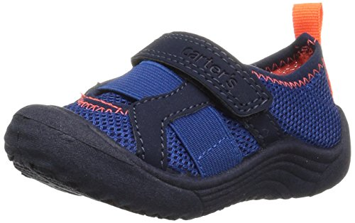 Price comparison product image Carter's Unisex-Kids Troop Boy's and Girl's Water Shoe, Navy, 11 M US Little Kid