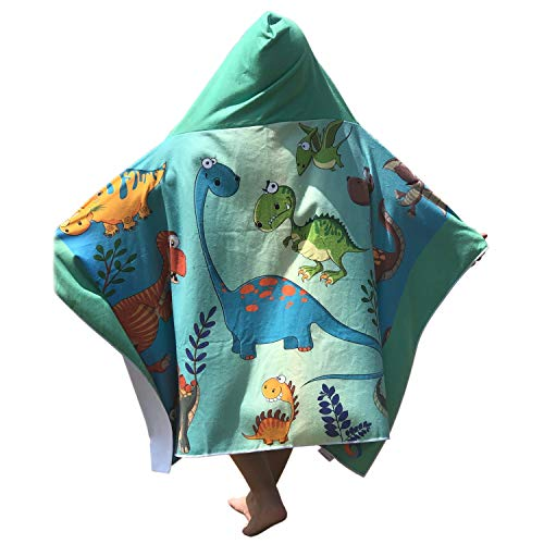 Dinosaur Toddlers Swimming Coverup Ponchos product image