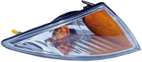 For 2000 2001 2002 Chevrolet Chevy Cavalier Turn Signal Corner Light lamp Assembly Passenger Right Side Replacement Capa Certified GM2521179