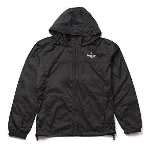 SHIELDS(シールズ) パーカー アウター Sports Wear ライト ウィンドブレーカー M-BK-01-01 ブラック S