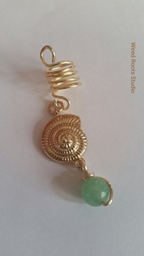 gold beads for locs - 5