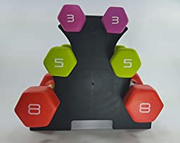 3-Tier Dumbbell Tree (Rack Only), by Sports & Fitness Warehouse