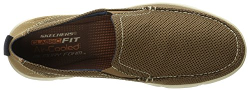 Skechers Men's Moogen Selden Slip-On Loafer Beige shop for for sale clearance factory outlet store sale Manchester OhIjxoS4F
